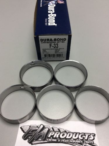 Ford FE 330 332 352 390 427 428 V8 Dura-Bond F33 Engine Camshaft Bearing Set