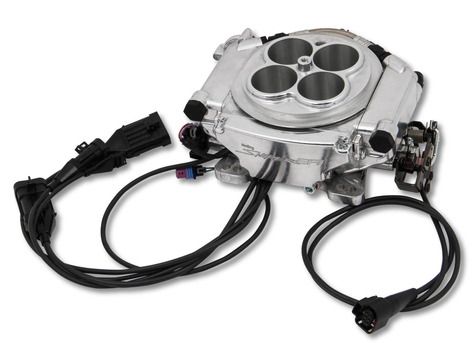 Holley SUPER SNIPER EFI 550-512 Polished 1250hp Blow Thru Forced Induction