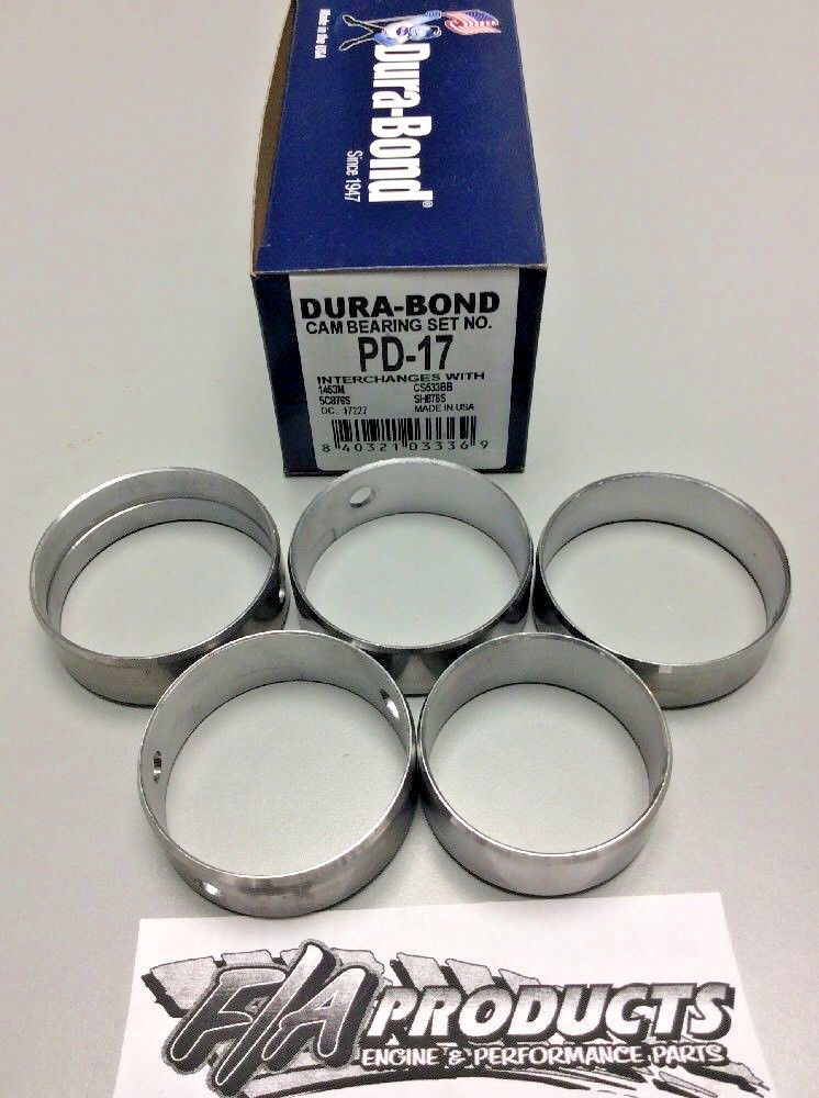 Big Block Mopar 383 400 440 426 Hemi Engine Camshaft Bearing Set Dura-Bond PD17