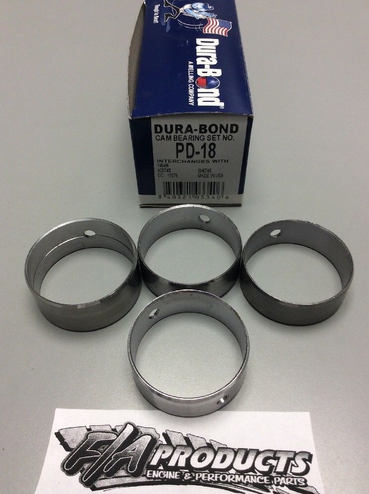 Chrysler Mopar Slant 6 170 225 196- 1978 Dura Bond PD-18 engine camshaft bearing