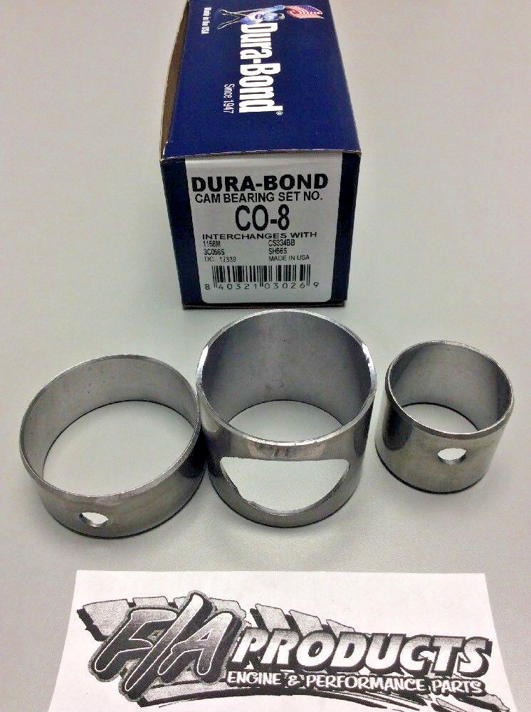 Continental F Series 4 Cylinder Engines Cam Bearing set Dura Bond CO-8