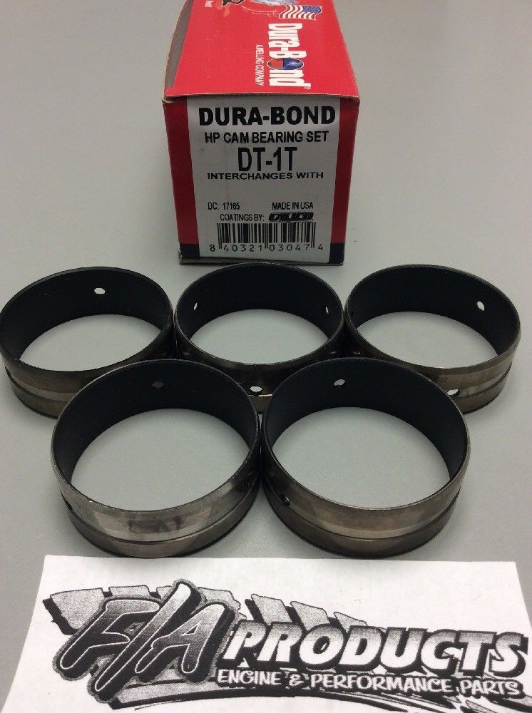 Dart Small Block Chevy Little M & SHP Coated Cam Bearing Set Dura Bond DT-1T