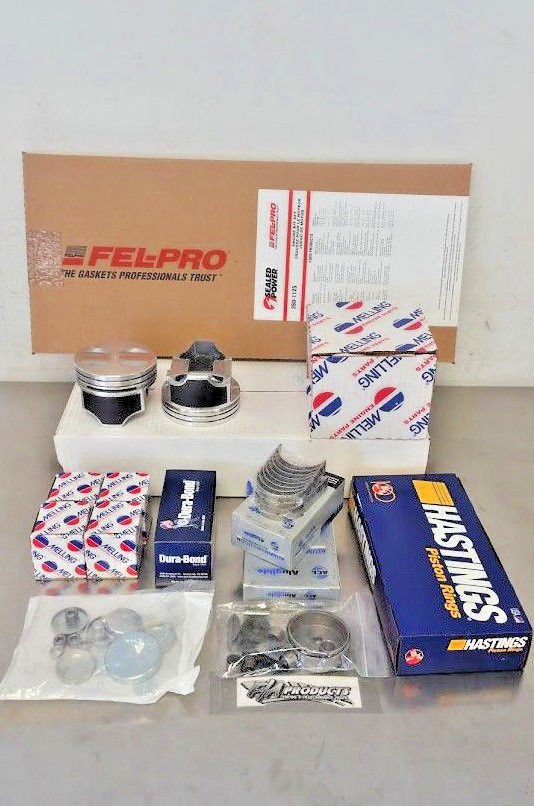 Ford 289 302 Engine Rebuild Kit w/ Pistons, Rings, Bearings, Oil Pump SBF Small