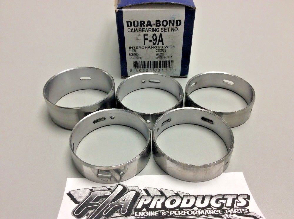 Ford 1954 To 1960 239 272 292 312 Y Block V8 Cam Bearing Set Dura Bond F-9A
