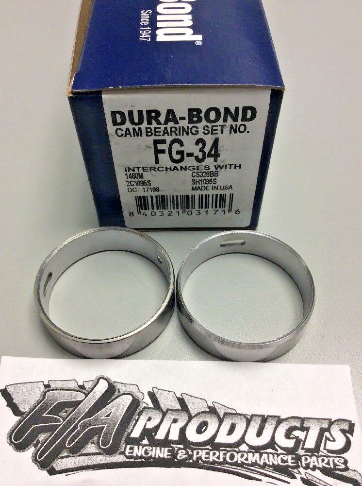 Ford 2.0L 2.3L 4 Cylinder OHC 74-97 Dura-Bond FG-34 Auxiliary Shaft Bearing Kit