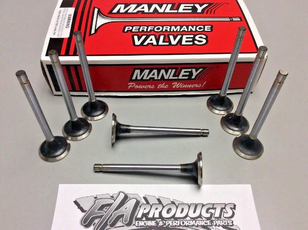 Manley 100778 Sb Chevy Ex Set//8