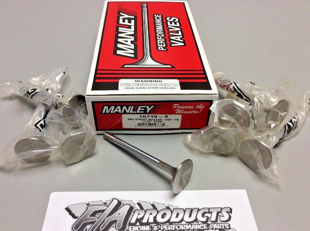 Manley 10749-1 Street Master 1.600 Exhaust Valve for Small Block Chevy