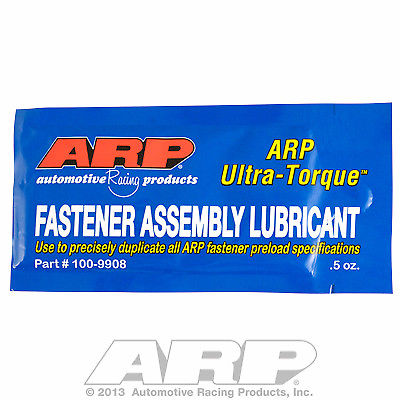 2 Packs Of ARP 100-9908 ULTRA TORQUE ASSEMBLY LUBE LUBRICANT .5 OZ Each