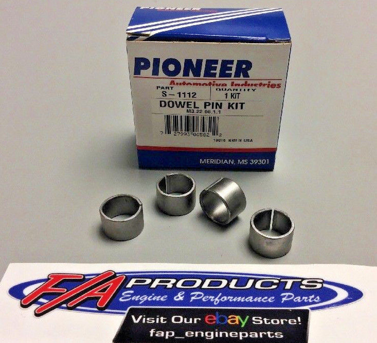 Pioneer S-1112 Cylinder Head Dowel Pin Kit For Small Block Ford Engines