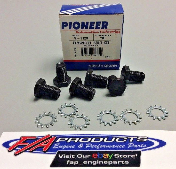 Pioneer S-1129 Chevy GM Manual Transmission Flywheel Bolt Kit