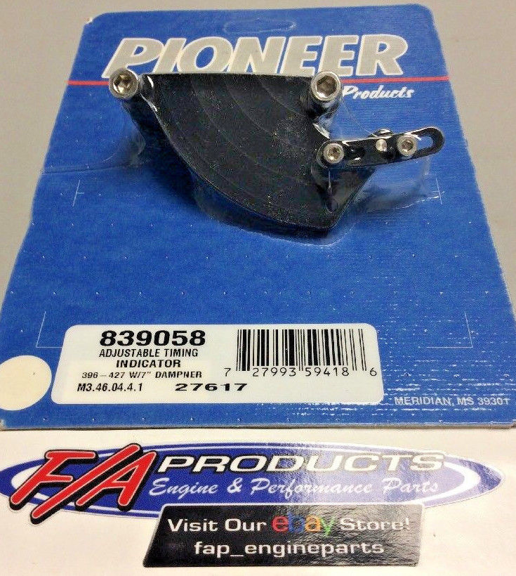 Pioneer 839058 Big Block Chevy Adjustable Timing Pointer For 7