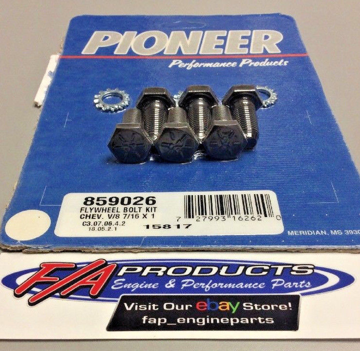 Ford And Chevrolet Manual Transmission Flywheel Bolt Kit Pioneer 859026