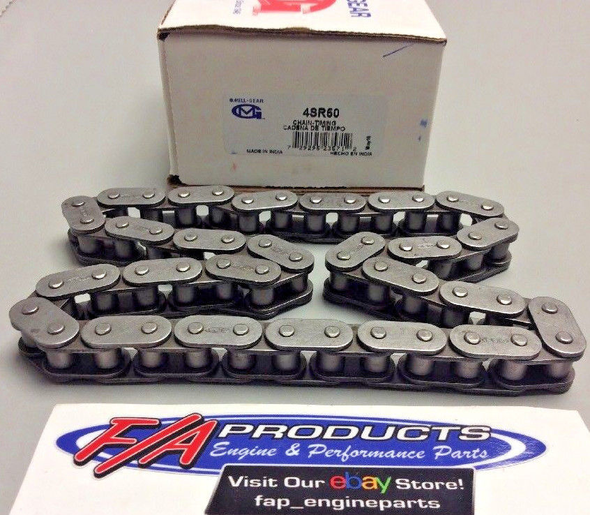 Big Block Chevrolet Gen 5 , 6 454 Engines Timing Chain Stock Melling 4SR50