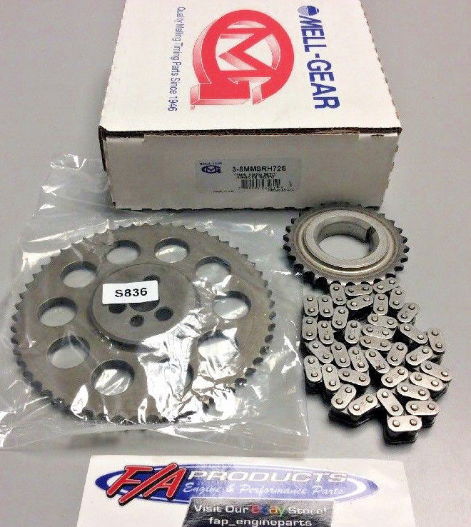 1992 Through 2013 4.3 Chevrolet V-6 Engines Timing Set-Stock Melling 3-8MMSRH72S