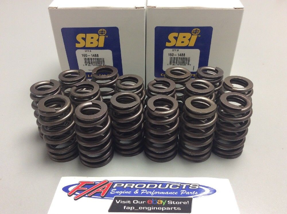 GM LS Engines 4.8 5.3 6.0 Set Of 16 Valve Springs SBI Sb International 160-1488