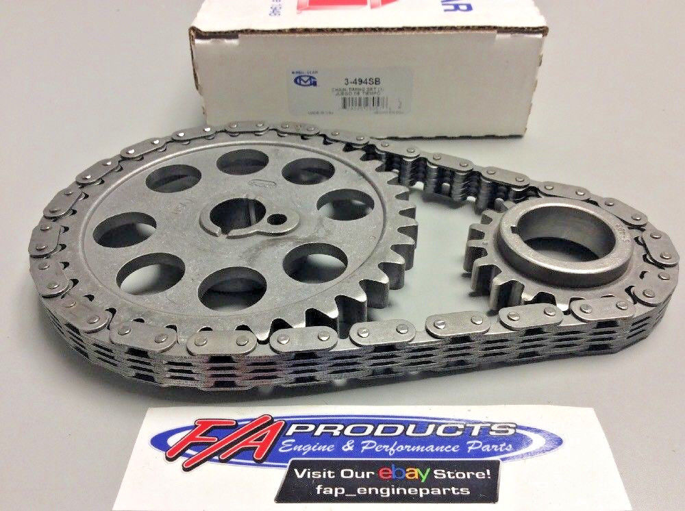 Ford 351 Cleveland / 400M Engines 1970 - 1973 Timing Set-Stock Melling  3-494SB