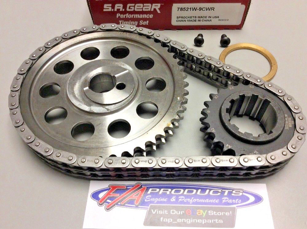 Ford 351 Cleveland With 351 Windsor Crank Snout Timing Set S A  GEAR  78521W-9CW