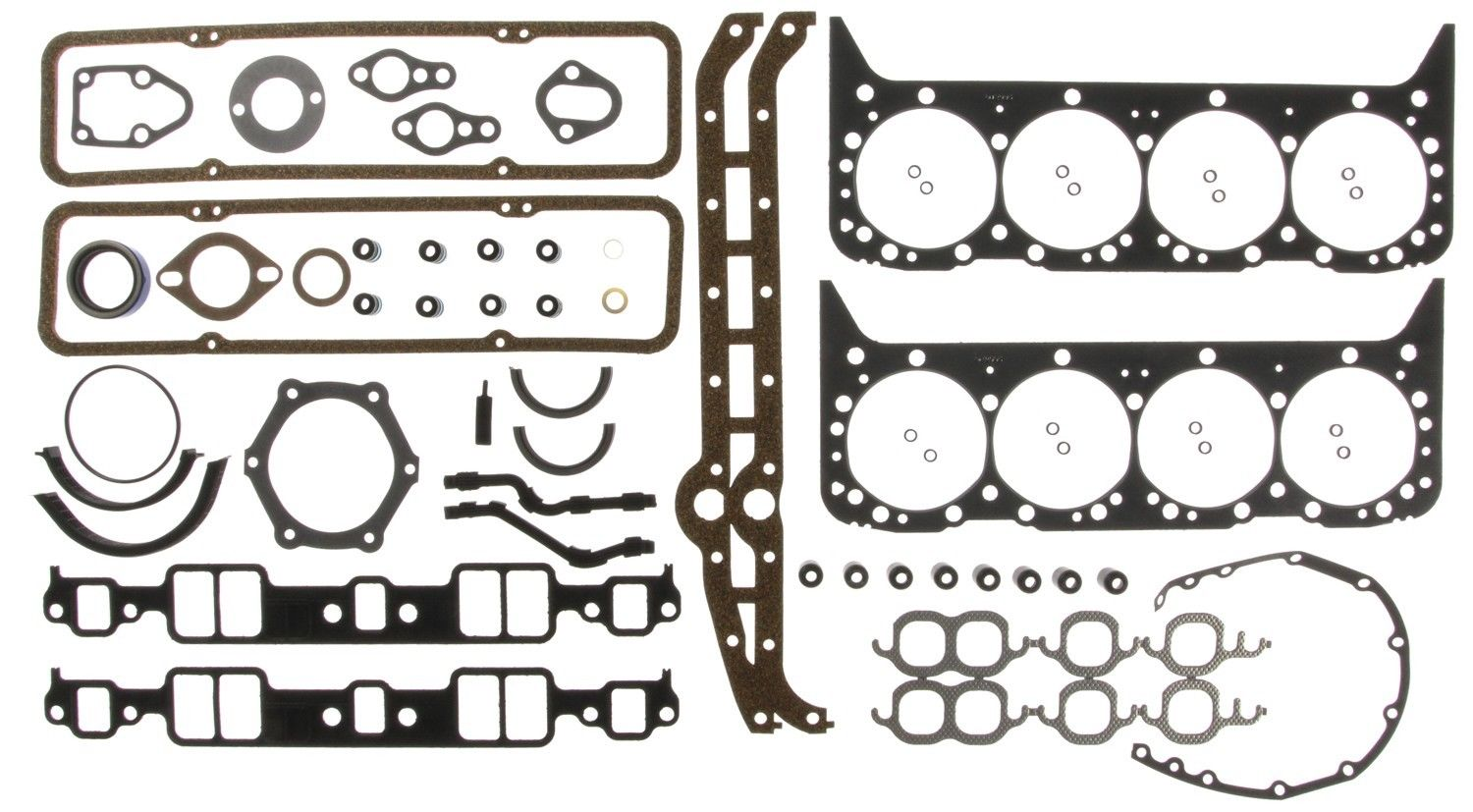 1981 Through 1985 Chevy 350 Engines Full Gasket Set Victor 95 3072vr