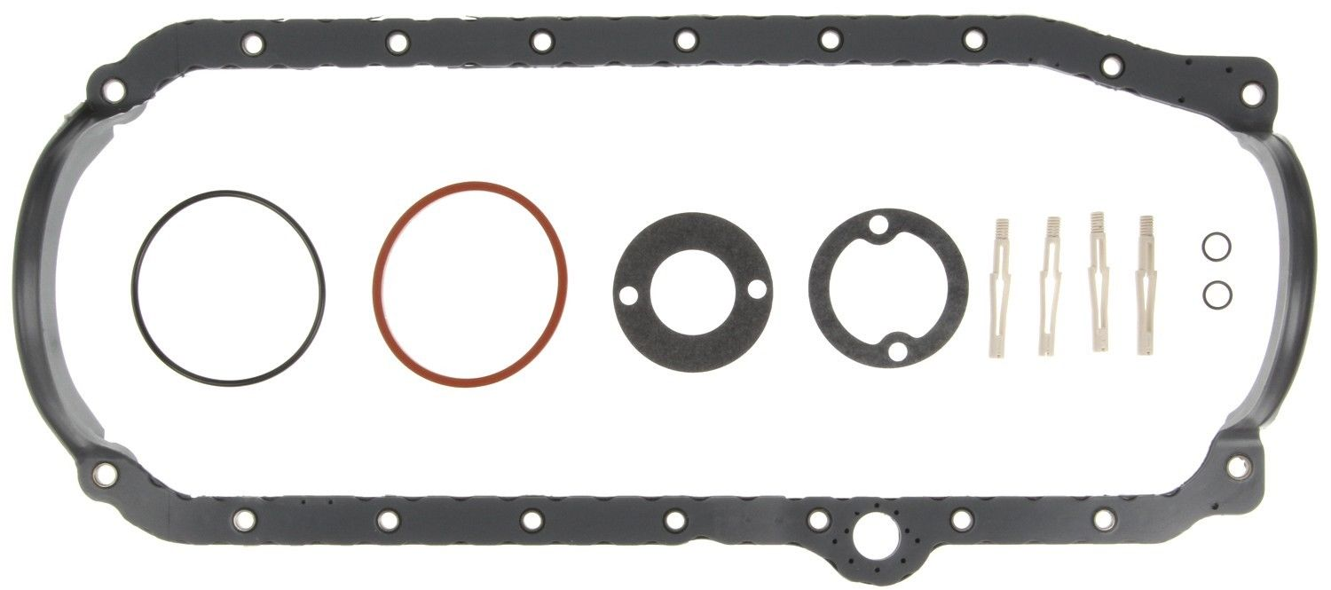 1985 Through Current Chevy Small Block Engine Oil Pan Gasket Set Mahle OS32496B