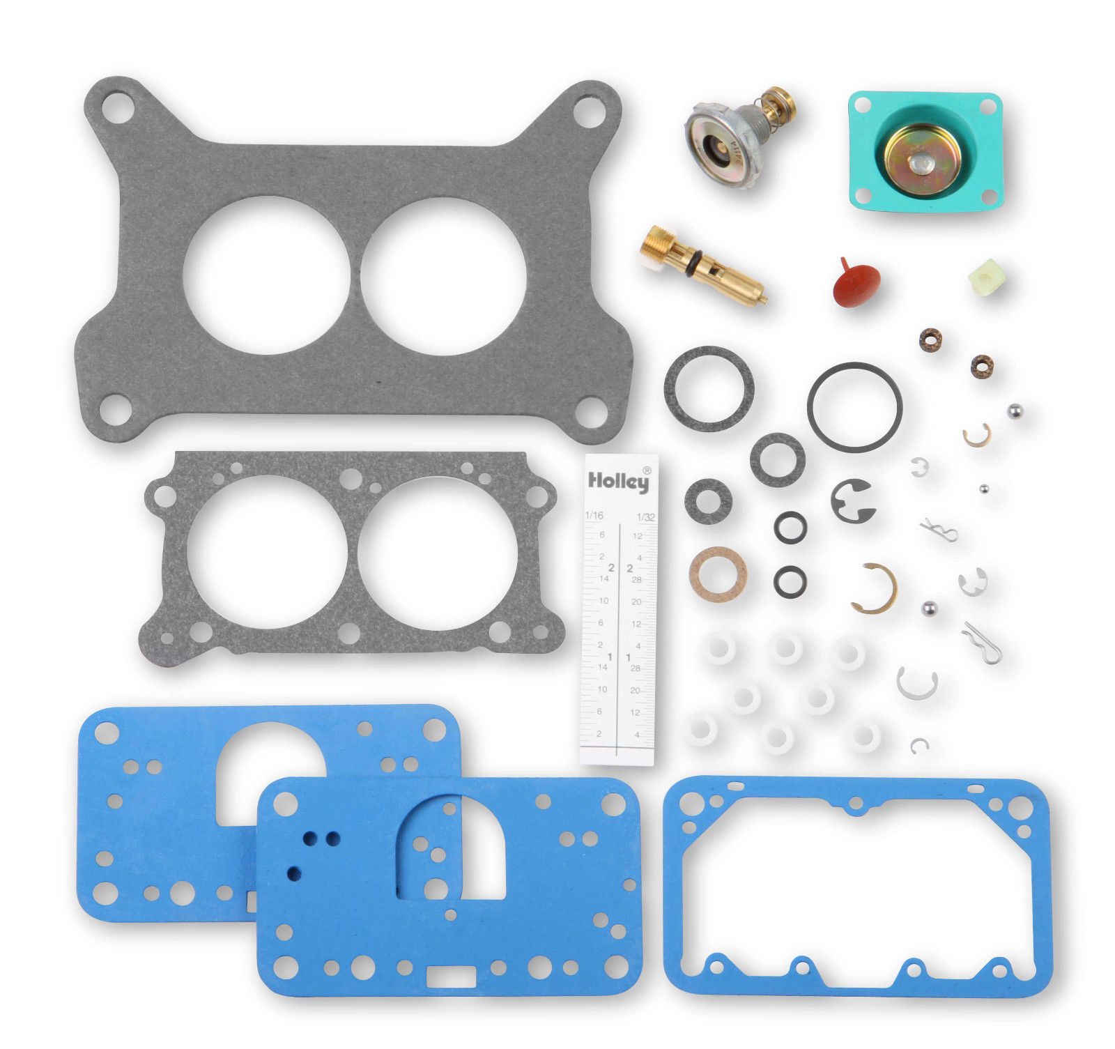 Holley 37-474 Carburetor Repair Kit 2 Barrel 4412 Model 2300 Rebuild TricKit