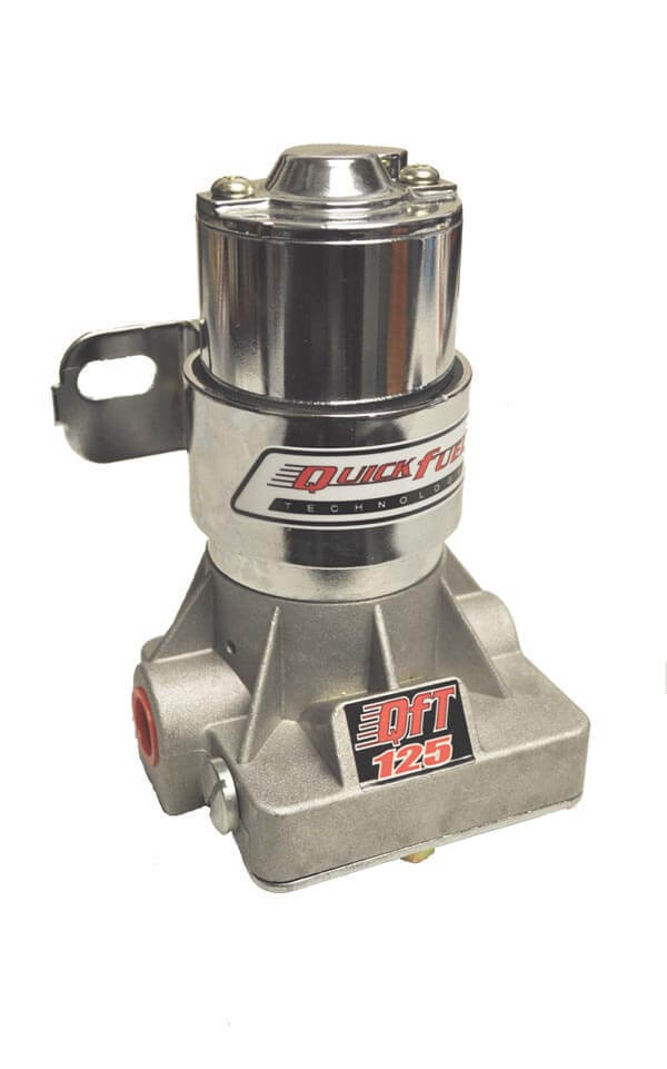 Quick Fuel 30-125-1RQFT Electric Fuel Pump & Regulator 125 GPH 14 PSI 3/8 NPT