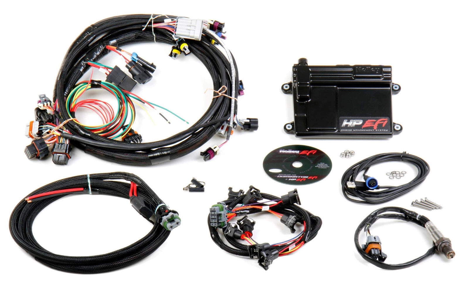 Holley EFI ECU & Harness Kit LS1 LS6 24x Crank Sensor Bosch Type 550-602