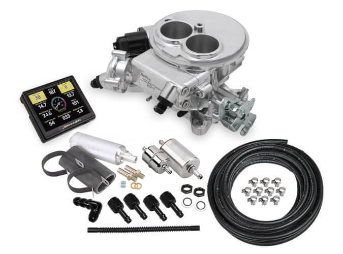 Holley Sniper EFI 2300 Carb 2 Barrel Master Kit Polished 550-849K