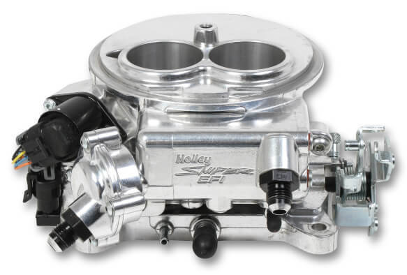 Holley Sniper EFI 2300 Carb 2 Barrel Polished 550-849 Self Tuning