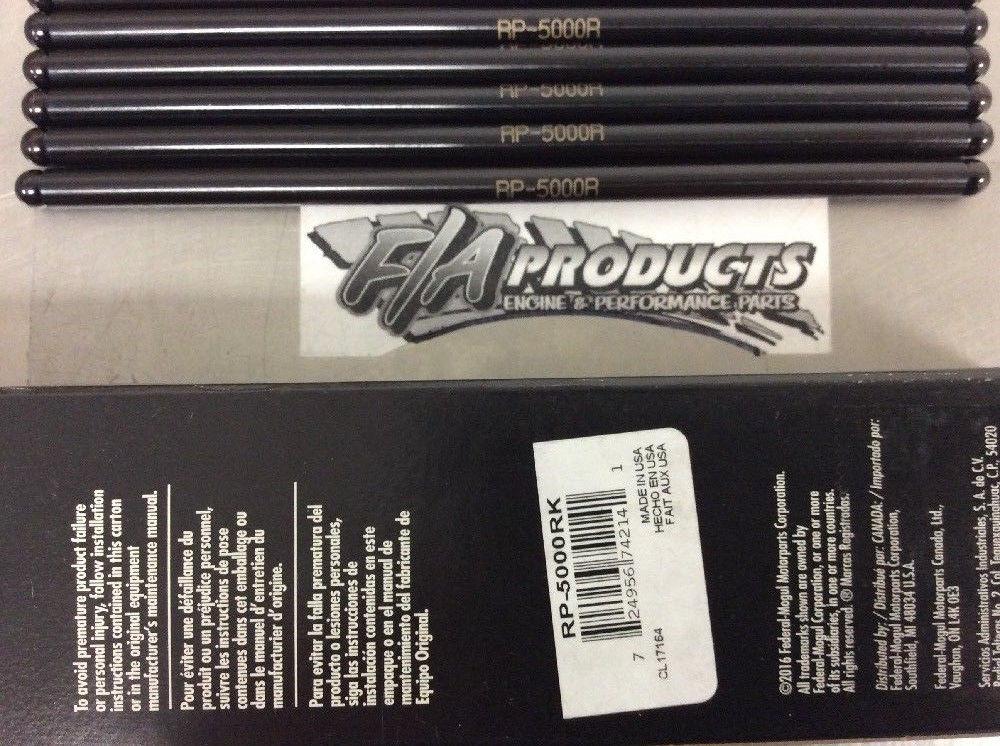 SBC Chevy Pushrods 5//16 Std Length 283 327 350 383 400 Set of 16