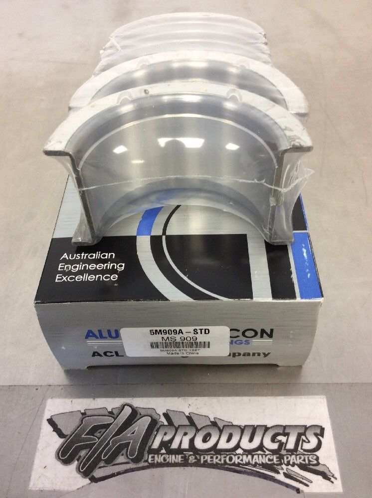 Chevy Small Block 305 327 350 383 ACL Aluglide A-Series Main Bearing Set   010
