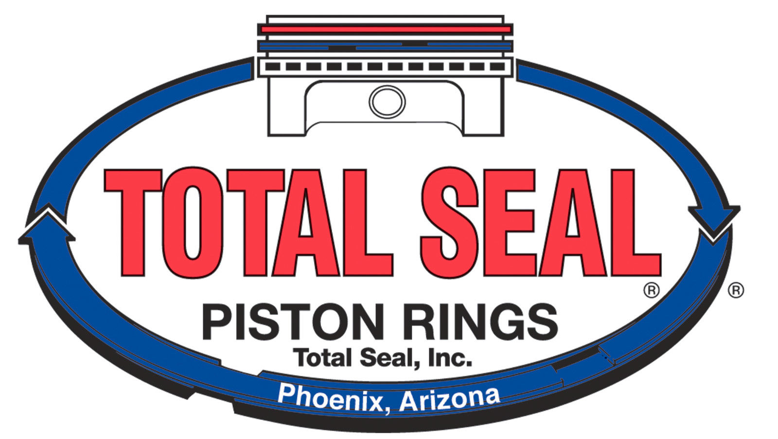 Total Seal CR3690-65 Classic Race Rings 4.060