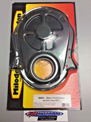 Milodon 65604 Timing Cover For Big Block Chevy Mark 4 Black