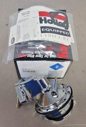 Holley 110 GPH Mechanical Fuel Pump Marine Fume Tube 712-454-11 BBC Chevy  454