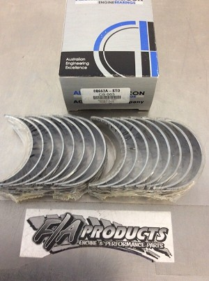Chevy Small Block 305 327 350 383 ACL Aluglide A-Series Rod Bearing Set   030